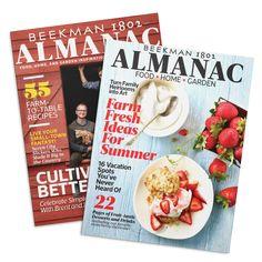 Beekman 1802 Almanac Magazine - AUTOGRAPHED   Cultivate a Better Life