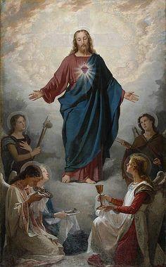 Sagrado Coração de Jesus, Rei e Senhor dos Anjos