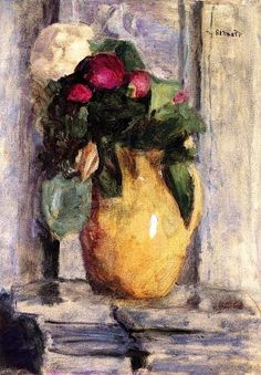 The Yellow Pot / Pierre Bonnard - 1920