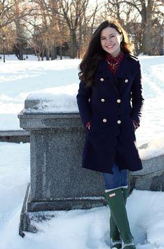 Belleoftheball45: Sunday Scallops | Fall/Winter Preppy Fashion