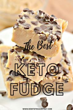 Keto Desert Recipes, Keto Recipes, Ketogenic Desserts, Keto Snacks, Low Carb Sweets, Low Carb Desserts, Fudge Recipes, Dessert Recipes, Dinner Recipes