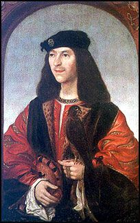 JAMES IV, King of Scotland, eldest son of James III, was born on the 17th of March 1473. He was nominally the leader of the rebels who defeated the troops of James III at the Sauchieburn in June 1488, and became king when his father was killed.