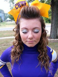 Cheer makeup (: