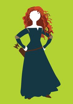 Disney Princess 8 Merida by alicewieckowska.deviantart.com on @DeviantArt