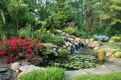 Natorp's Sound plays a powerful and surprising role in the garden. Our designers enjoy creating water features within your garden design that will suit your needs and soothe your soul.