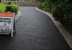 Constructive Tarmac Driveway borders and designs, Bury, Bolton, rochdale, greater manchester surfacing