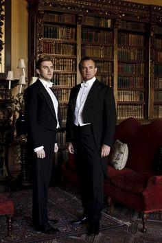 Downton! I just met Dan Stevens (Matthew Crawley) and he is waaaay hotter in preson! And super nice : )