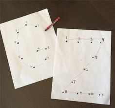 Clever ABC game for kids! Make connect the dot sheets.