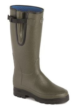 Campbell's of Beauly - Vierzonord Neoprene Boot Vert 7100 Wellington Boot, Online Purchase, Rubber Rain Boots, Lady, Leather, Stuff To Buy, Accessories, Shoes, Women