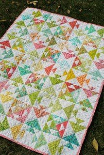 Kissy Fish Baby Quilt | FaveQuilts.com