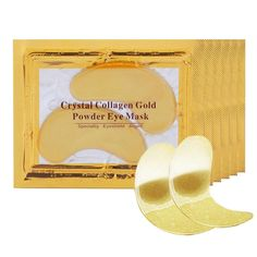 Gold Eye Mask, Gold Eyes, Eye Gel Pads, Under Eye Mask, Gold Powder, Eye Wrinkle, Skin Care Tools, Face Skin Care, Skin Brightening