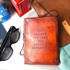 Another Adventure Handmade Journal   | recycled leather | bohemian life | Summer fun | wild and free | gypsy soul | stay wild moon child