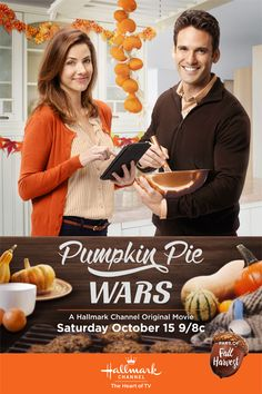 Pumpkin Pie Wars October 2016 It's a Wonderful Movie -Family & Christmas Movies on TV 2014 - Hallmark Channel, Hallmark Movies & Mysteries, ABCfamily &More! Come watch with us! Hallmark Channel, Películas Hallmark, Films Hallmark, Hallmark Holiday Movies, The Fall Movie, Love Movie, Movie Tv, Movie List, Julie Gonzalo