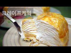 [Basic] Crepes cake 크레이프 케이크 [스윗더미 . Sweet The MI] - YouTube