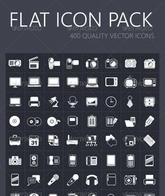 Flat Icon Pack — Photoshop PSD #pixel #32x32 • Available here → https://graphicriver.net/item/flat-icon-pack/7536558?ref=pxcr