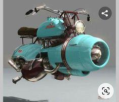 Diesel Punk, Vintage Motorcycles, Custom Motorcycles, Honda Motorcycles, Hover Bike, Ducati Monster Custom, Womens Motorcycle Helmets, Motorcycle Girls, Steampunk Accessoires