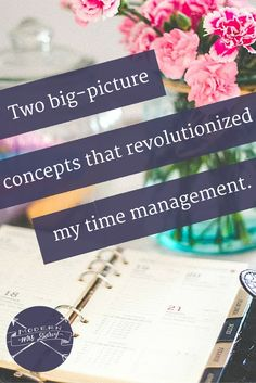 Planning becomes easier when you find the style that works for you. Revolutionize your time management with these two big-picture concepts.