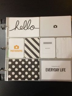 Amazon.com : Project Life Core Kit - Midnight Edition : Scrapbooking Paper : Arts, Crafts & Sewing