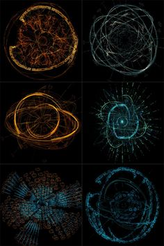 6 Animated HUD Spheres 6 Elements for upgrade Spheres (maximum approximation camera to th. Web Design, Graphic Design, Pen & Paper, Arte Obscura, After Effects Projects, Ex Machina, Magic Circle, Futuristic Design, Galaxy Art