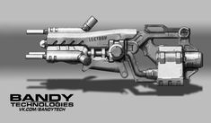 Sci Fi Weapons, Concept Weapons, Sci Fi Games, Steampunk Gun, Elemental Powers, Iron Man Suit, Future Weapons, Game Concept, Airsoft