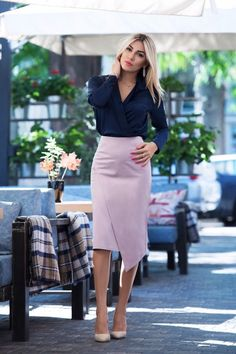 work outfits on a budget - business professional outfits on a budget Pencil Dress Outfit, Pencil Skirt Casual, Pencil Skirt Outfits, Pencil Skirts, Pencil Dresses, Casual Work Outfit Summer, Work Casual, Casual Outfits, Casual Attire