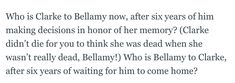 Who is Clarke? Who is Bellamy? Season 5 changes everything.