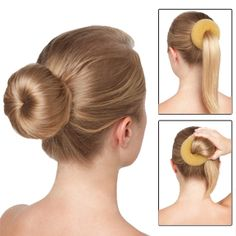 btw you can make this yourself with a guys dress sock Donut Bun Hairstyles, Emirates Cabin Crew, Medium Hair Styles, Long Hair Styles, Top To Toe, Dress Socks, Dance Class, Dance Outfits, Dance Costumes
