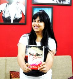 Aditi Mathur Kumar, author of the book Soldier and Spice, based on the life of a fauji wife.