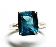 Fluorite fluorite ring solitaire ring emerald by Michaelangelas