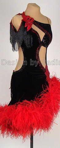 Latin Dance Dresses & Rhythm Dresses by Radim Lanik