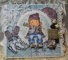 Card I made with stamps from www.magnoliastamps.us