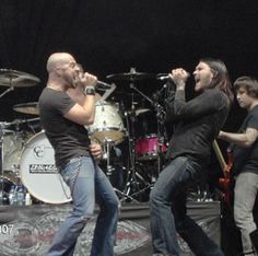 Chris Daughtry and Brent Smith