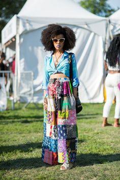 Moda e empoderamento negro em +50 looks do Afropunk