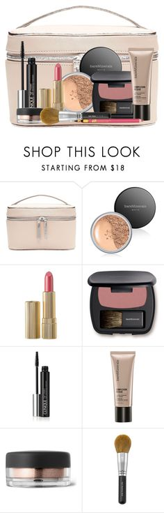 """My Makeup Bag"" by doozer ❤ liked on Polyvore featuring beauty, Witchery, Bare Escentuals, Estée Lauder and Clinique"