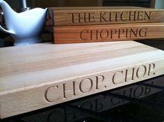 Hand-made Chopping Board (personalised options available.)