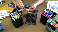 Basics: Organizing Your Spectrum Noir Pens