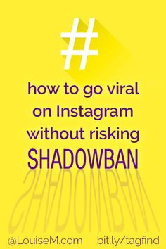 Instagram hashtags increase your reach organically – but NOT if you get shadowbanned! Click to blog to try a one-of-a-kind Instagram Hashtag Finder tool that ONLY suggests IG-approved hashtags. Find 30 perfect tags in one minute! Perfect for small business marketing, bloggers, and entrepreneurs.