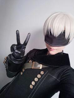 Ichinose Hikaru / Nier: Automata 9s cosplay Twitter @ichinosehikaru