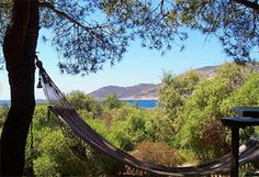 Un coin de paradis en Corse. La Morsetta Camping se trouve sur la plage spectaculaire de Crovani.