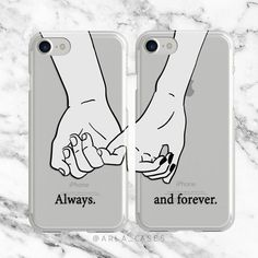 Couples Phone Case iPhone 7 Plus Case Samsung Galaxy S7