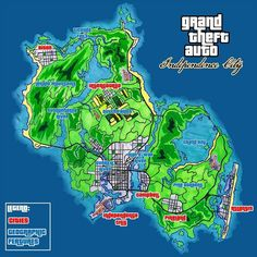 GTA Vice City: GTA Vice City Map | Life Hacks and Duh Moments