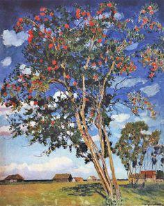 igor grabar | Igor Grabar. A Rowan Tree. 1924 | Art and Faith