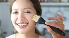 1 Minute DIY : Olive Oil + Honey Mask, via YouTube.