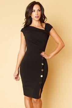Back in Business Black Dress
