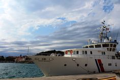 Le navire André Malraux en mission archéologie sous-marine à Port-Vendres