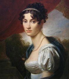 1809 Princess M. Kochubey by Baron François Gérard (State Pushkin Museum - Moskva Russia) | Grand Ladies | gogm