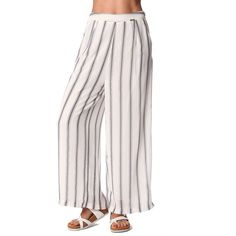 28 Ways to Dress Up with Vertical Striped Wide Leg Pants #Fashion  https://seasonoutfit.com/2018/01/14/28-ways-to-dress-up-with-vertical-striped-wide-leg-pants/