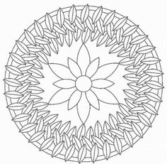 Mandala Coloring Pages Advanced Level | Mandalas for ...