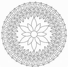 Mandala Coloring Pages Advanced Level | Mandalas for ...