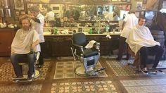 We've arrived @schorembarbier @barber_adagios @reuzel_id #noschoolliketheoldschool  #pompadour #rockabilly #vintage #reuzel #layrite #layritesuperhold @moochvintage @dickieseurope @dickiesofficial @drmartensofficial @apothecary87 #themanclub #barber #barberlife #barberfam #barberforlife #ilovemyjob @truebarberproducts #pma #noteverythingsucks #family by giovanni_savillsbarbers